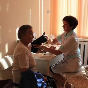 Ирбитская больница проводит диспансеризацию сельских жителей
