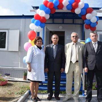 На юго-западе Свердловской области открыли ФАП и презентовали мобильный комплекс «Диагностика»