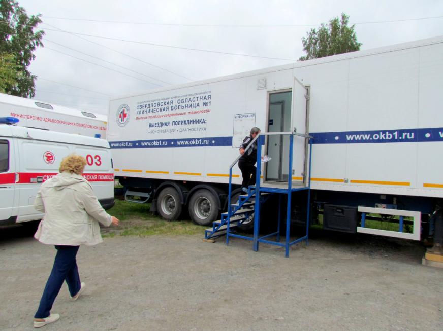 Около 170 жителей Слободо-Туринского района за неделю прошли обследования в «диамобиле» СОКБ №1