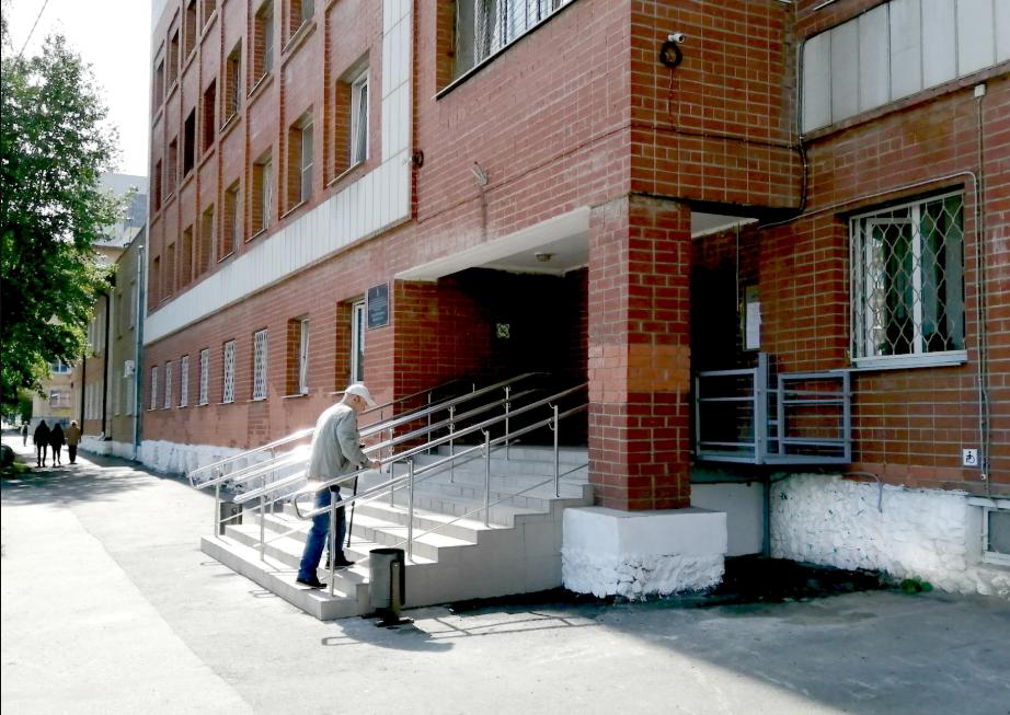 Свердловская психиатрическая больница стала доступнее для инвалидов