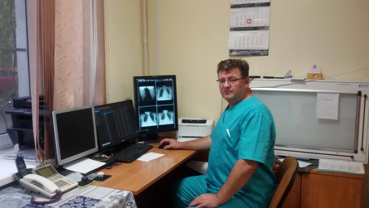В ГКБ № 14 Екатеринбурга внедряется оцифровка рентгеновских изображений