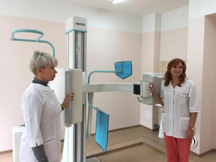 В Свердловской областной клинической психиатрической больнице установили новый флюорограф
