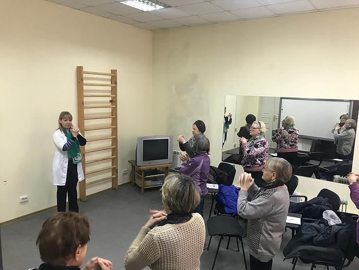 В Школе здоровья 60+ Свердловского областного центра медпрофилактики стартовал новый учебный год