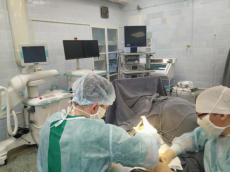 В малых городах Свердловской области начали проводить высокотехнологичные операции