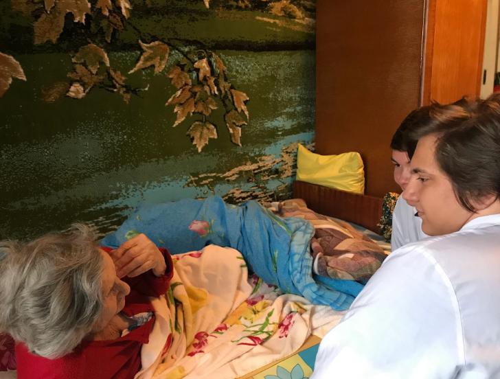 Для жителей поселка Западный Алапаевского района состоялась профилактическая акция #ДоброВСело