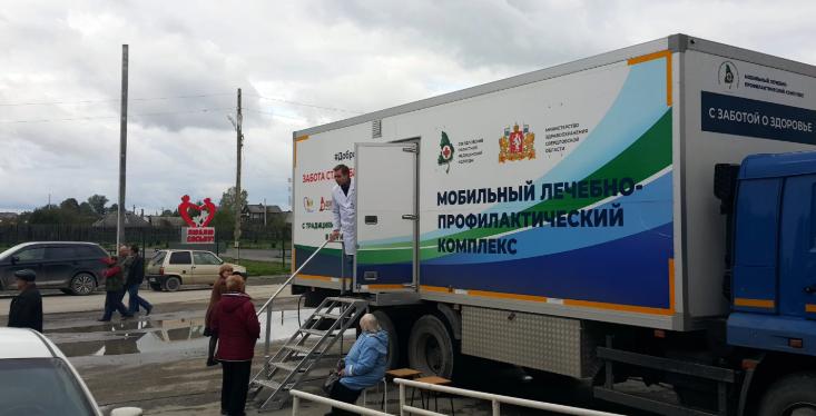 Для жителей отдаленных поселков Свердловской области состоялась акция #ДоброВСело