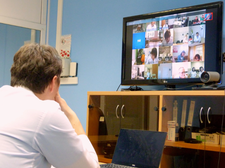 Около 630 телеконсультаций проведено в августе специалистами поликлиники СОКБ №1