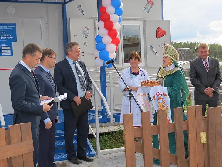 Для 500 сельских жителей Режевского округа состоялось открытие двух модульных ФАПов