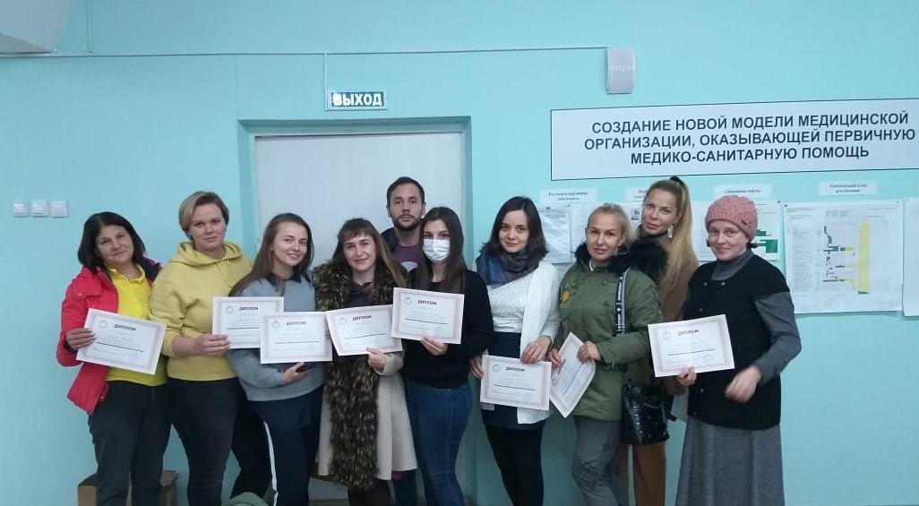В Березовской ЦГБ прошел двухдневный курс по оказанию первой помощи