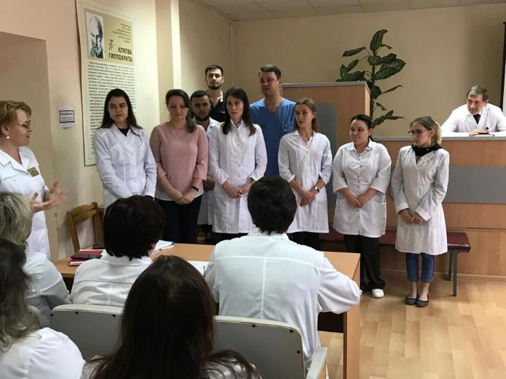 Ревдинская больница пополнилась молодыми кадрами