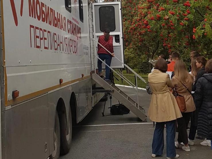 Студенты Уральского федерального университета пополнили банк крови Свердловской области на 20 литров