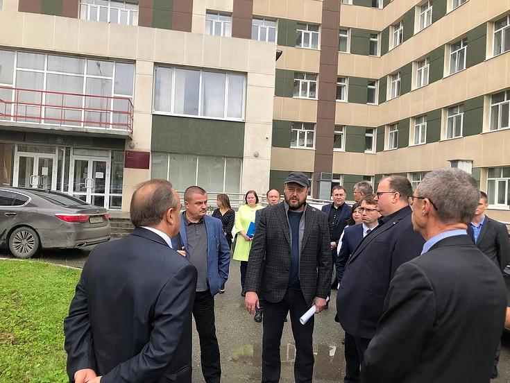 В Североуральске Андрей Цветков принял ряд решений по развитию местного здравоохранения