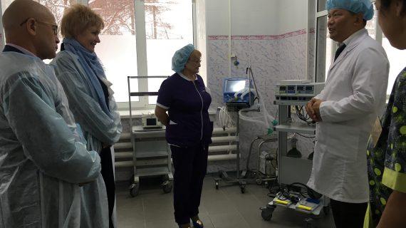 Отделение хирургии Березовской ЦГБ оснастили новым оборудованием