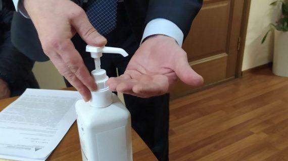 Предприятия Березовского активно участвуют в профилактике коронавируса