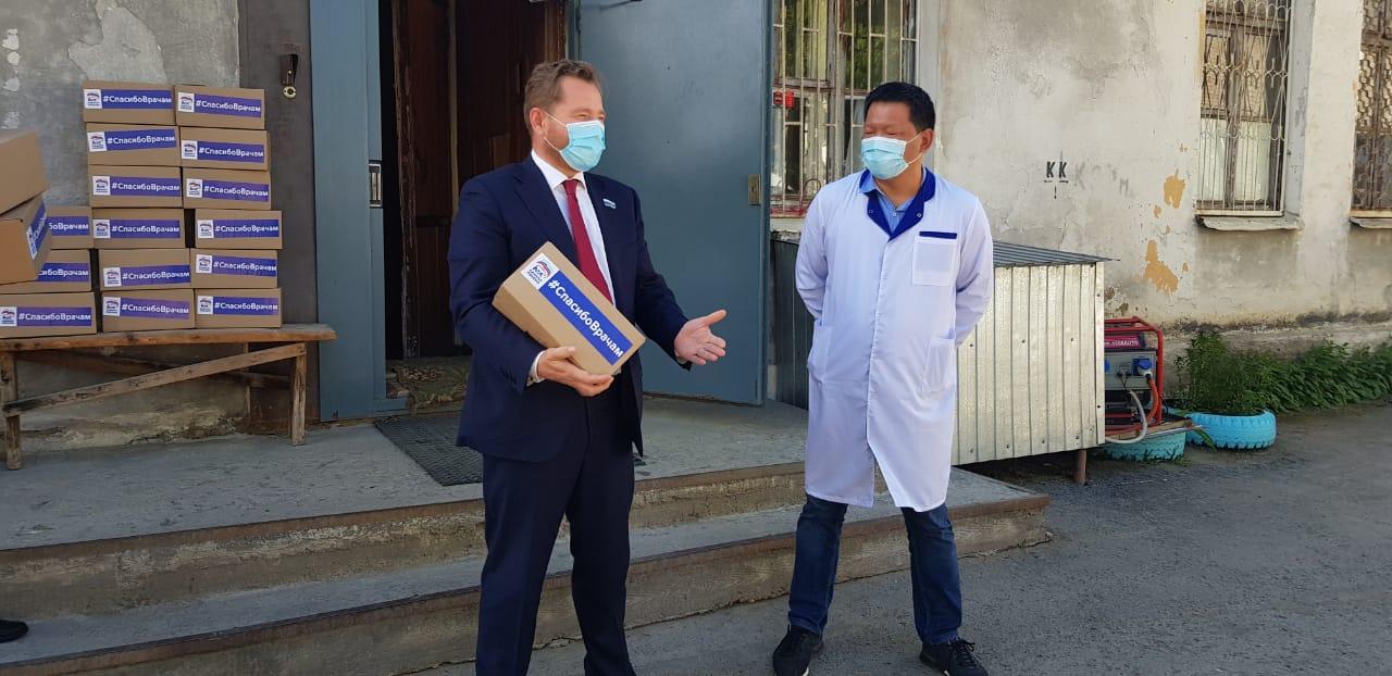 Медикам Березовской ЦГБ вручили подарки в рамках акции #СпасибоВрачам