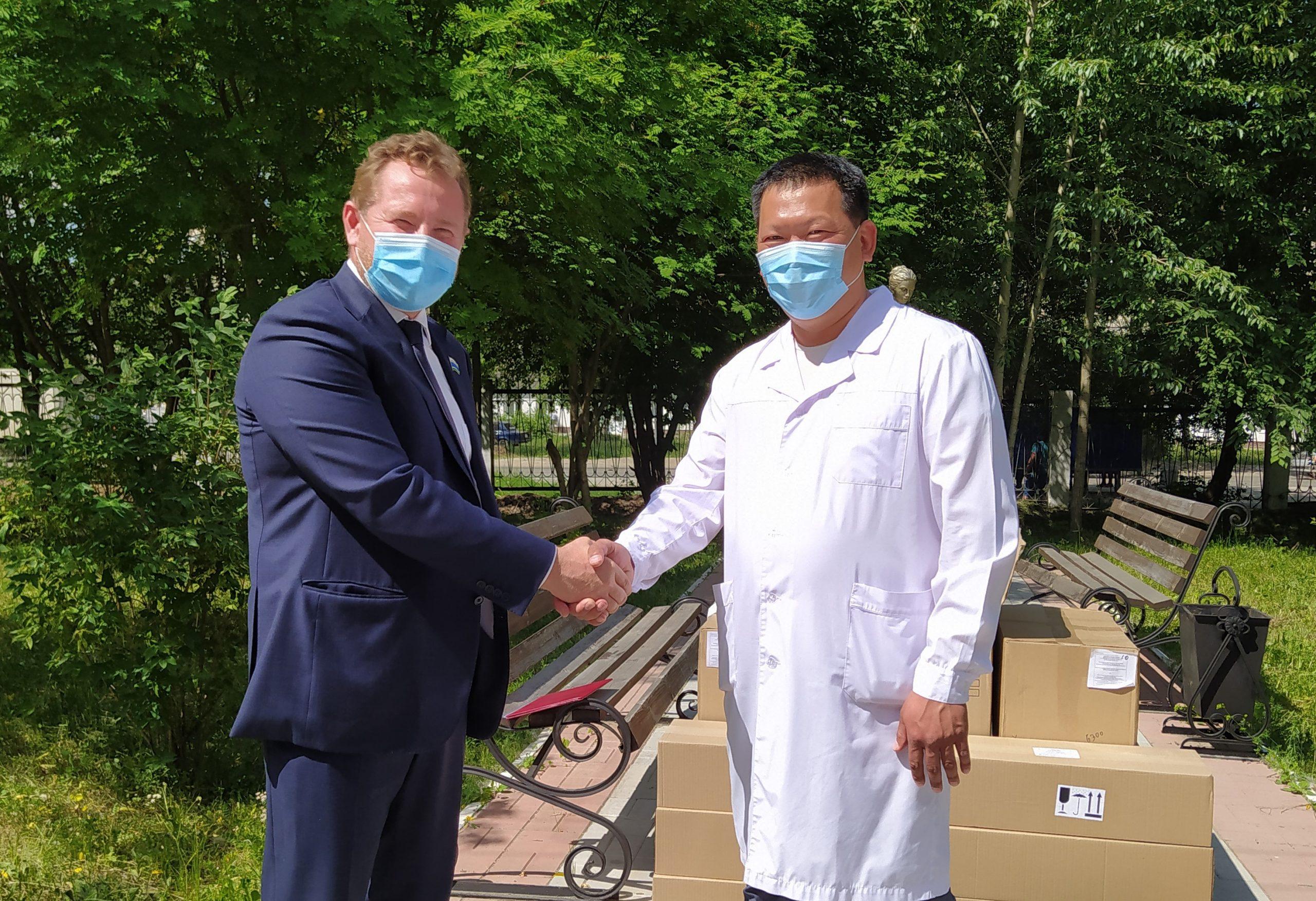 Березовская ЦГБ получила необходимую помощь от предприятий Свердловской области