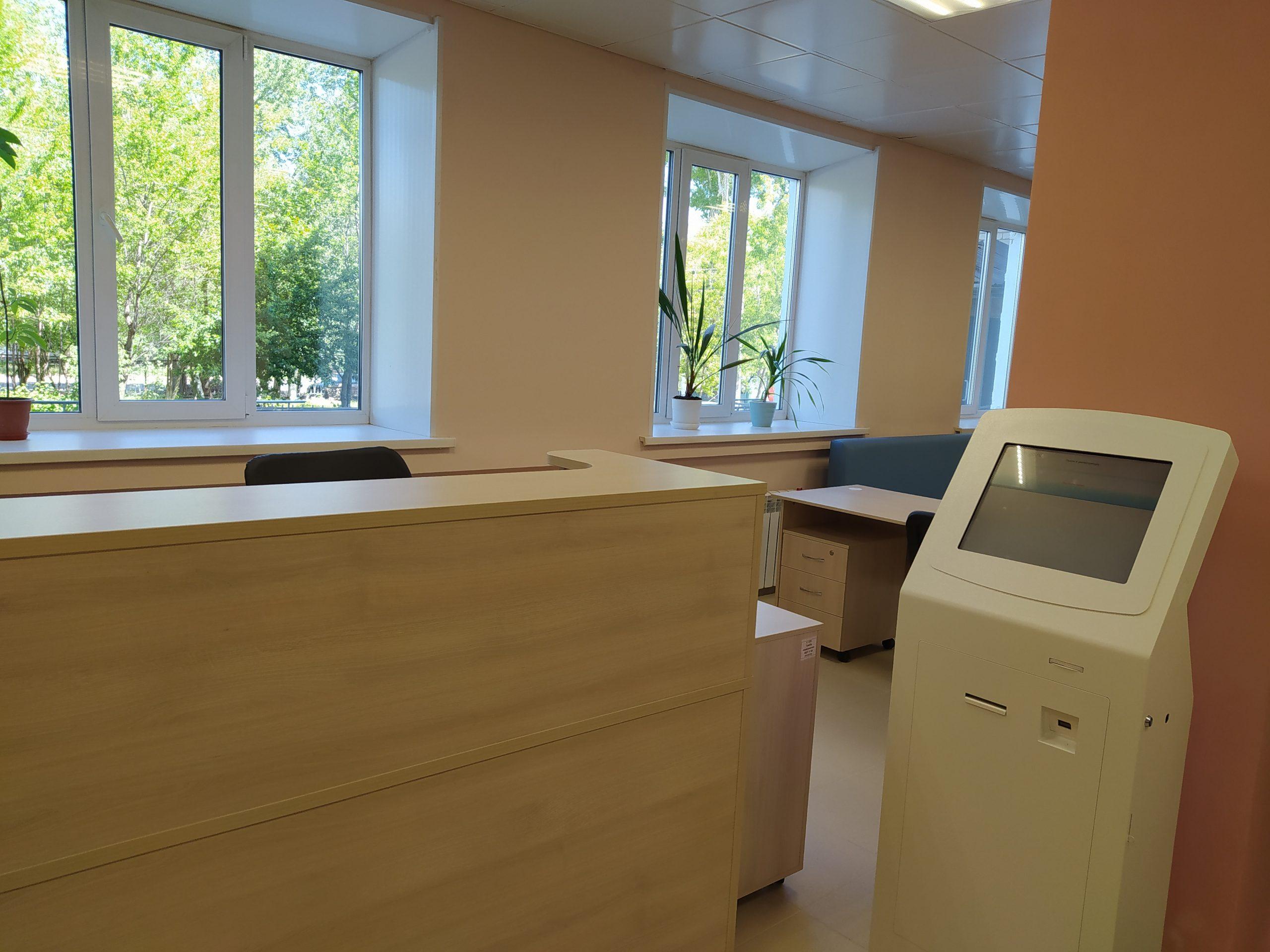 «Бережливая» регистратура Женской консультации Березовской ЦГБ открывается после ремонта