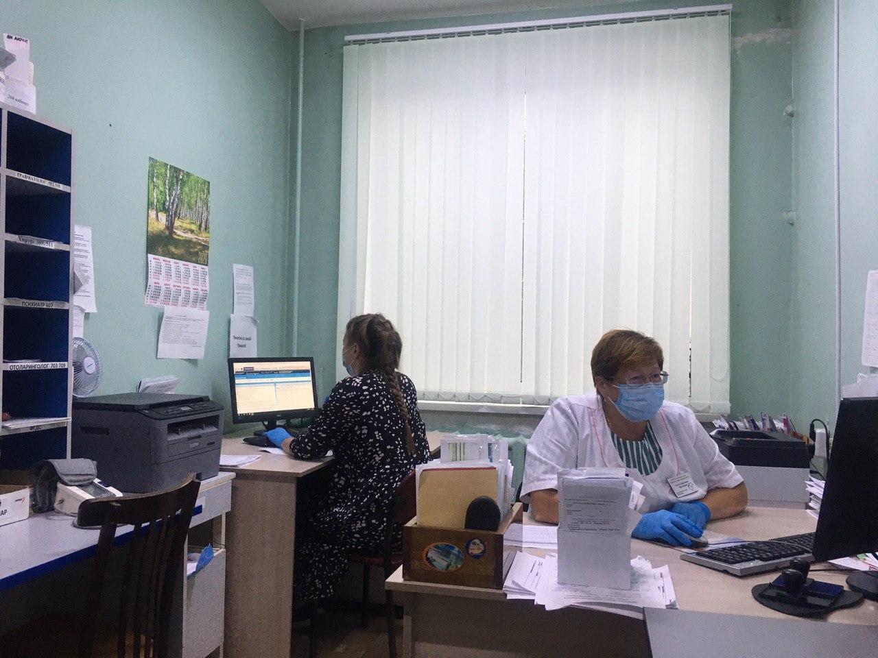 В Березовской ЦГБ работает Кабинет мониторинга за организацией оказания медицинской помощи пациентам с  COVID-19