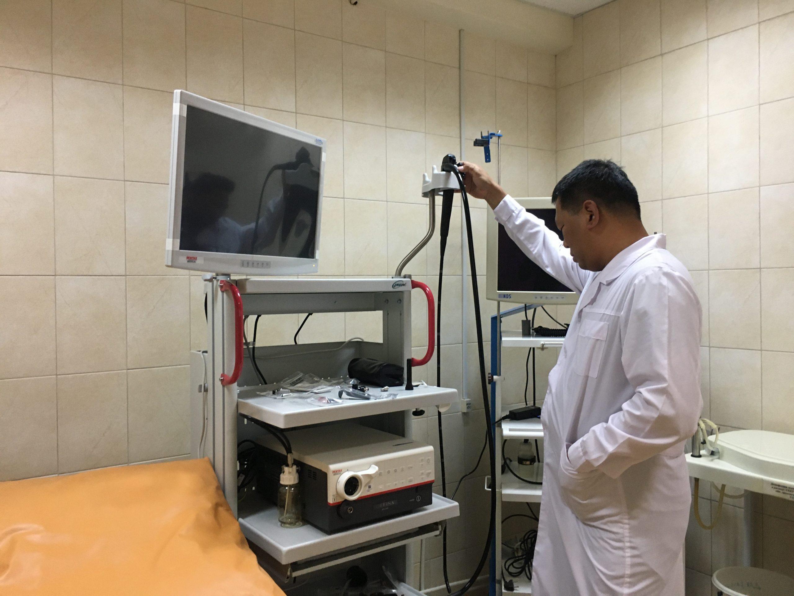 В Березовскую ЦГБ поступило новое дорогостоящее диагностическое оборудование