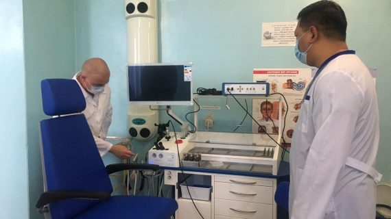 Березовская ЦГБ расширила свои возможности по диагностике и лечению ЛОР-заболеваний