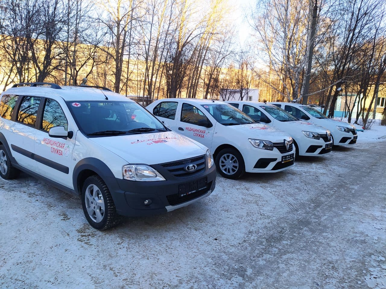 Автопарк Березовской ЦГБ вновь пополнился новыми автомобилями