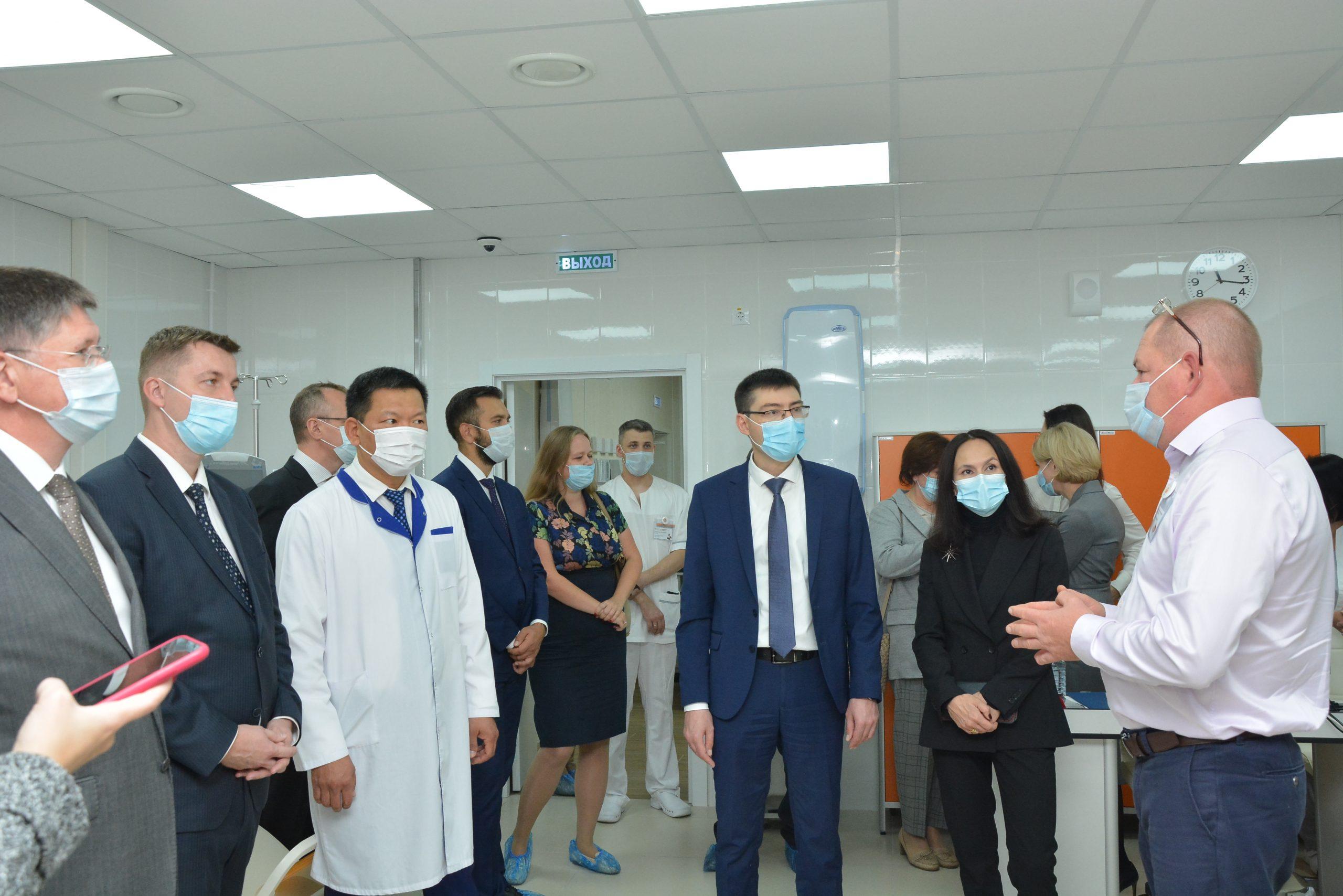В Березовском открылся диализный центр