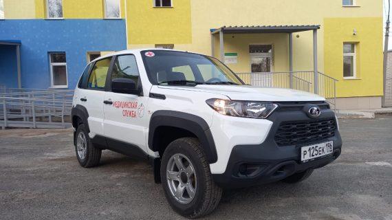 Новый автомобиль будет обслуживать поселки Березовского